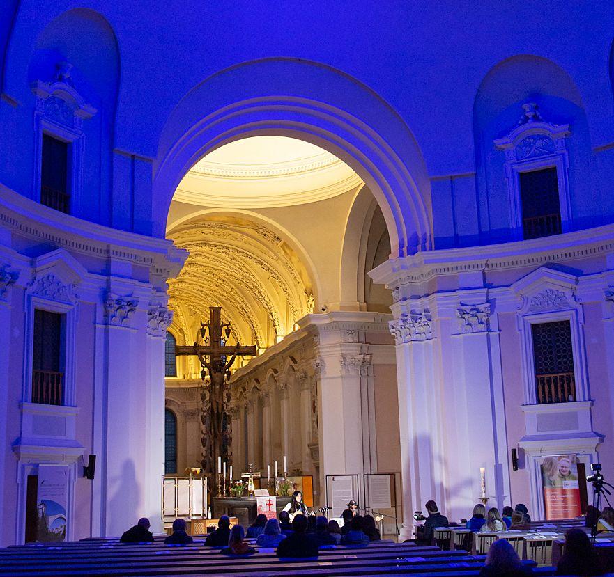 Blaue Nacht 2019 - St. Egidien - Fotograf W. Noack