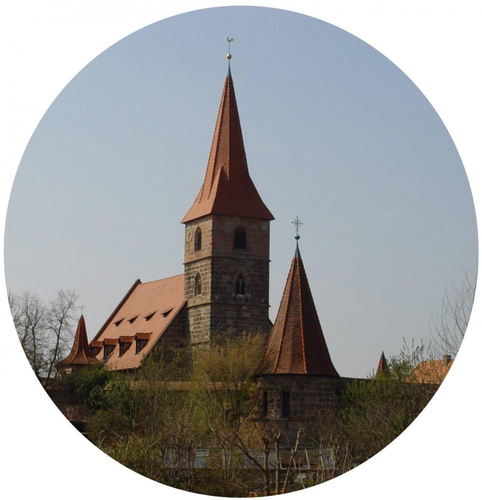 St. Georgskirche - Kraftshof