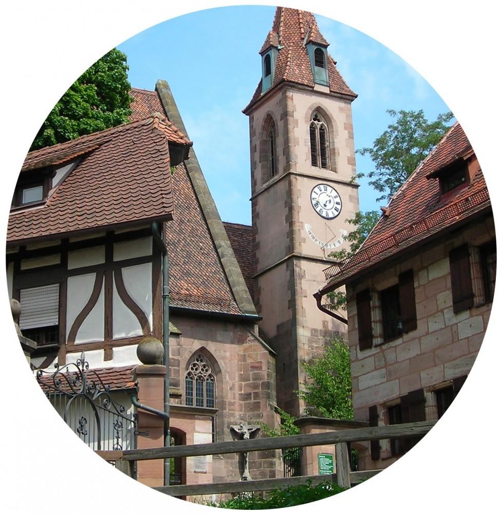 St. Nikolaus und St. Ulrichkirche - Mögeldorf