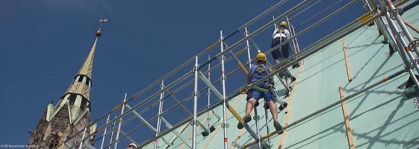 Bauarbeiten an St. Lorenz
