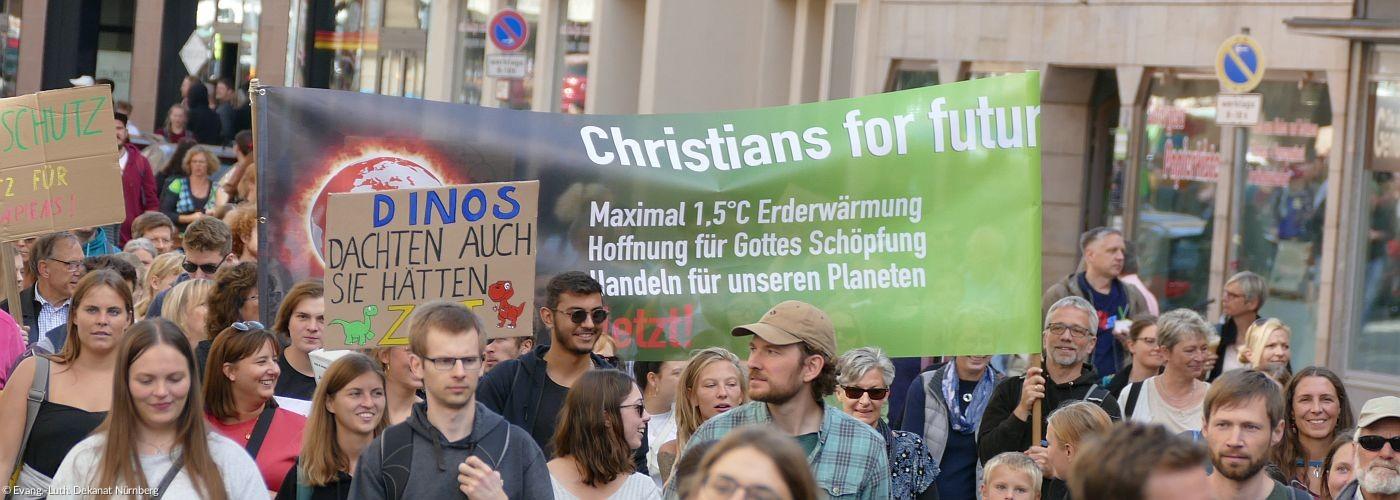 Banner - Klimaschutz