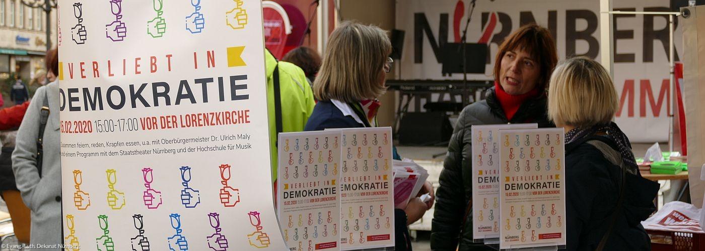 Verliebt in Demokratie - Dekanat solidarisch